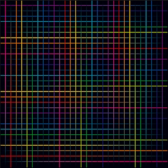 Multicolored lines