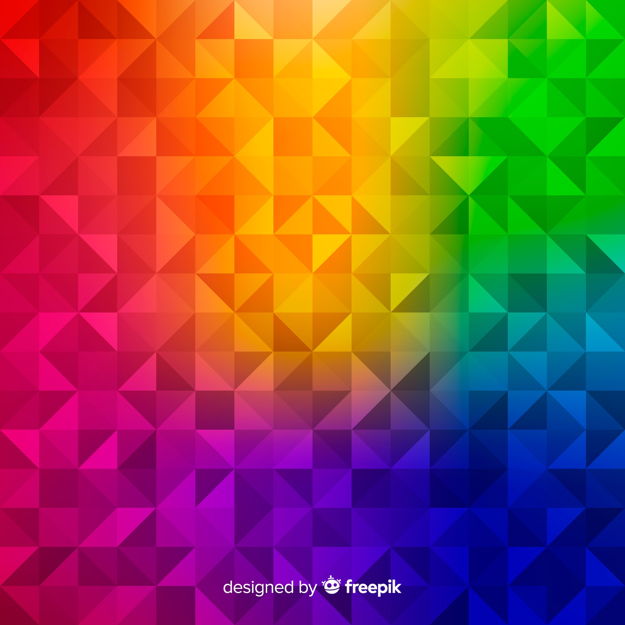 Multicolored modern abstract background with geometric shapes