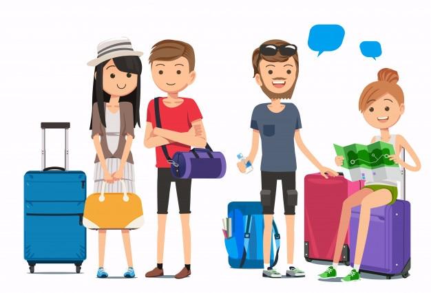 Multicultural travelers