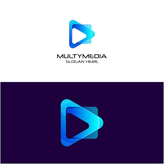 Дизайн мультимедийных логотипов