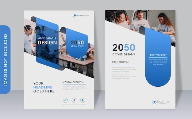 Multipurpose corporate modern book cover template