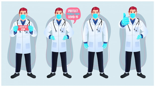 Multipurpose doctor character set