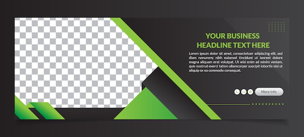 Multipurpose facebook cover banner template