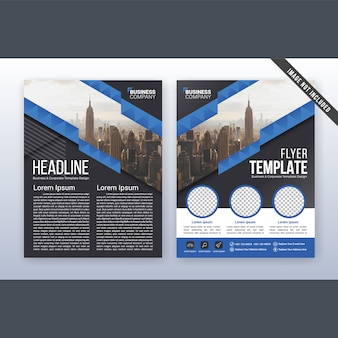 Multipurpose modern annual report and flyer template