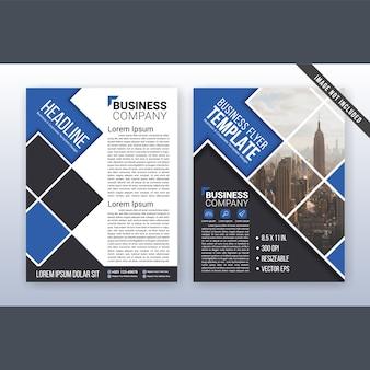 Multipurpose modern business flyer and leaflet template