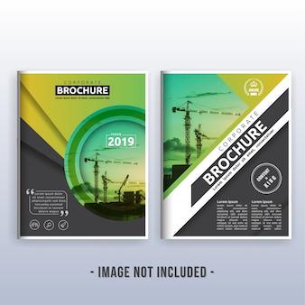 Multipurpose modern corporate business flyer layout design