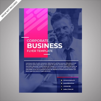 Multipurpose modern flyer with gradients