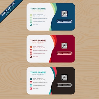 Multitone business card