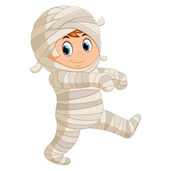 Mummy walking
