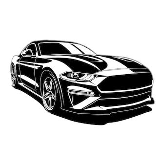 근육 자동차 그림