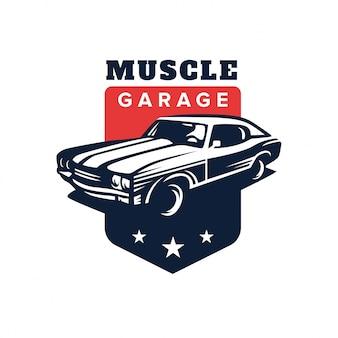 Muscle car logo