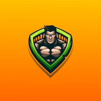 Muscle design vector illustration ready to use