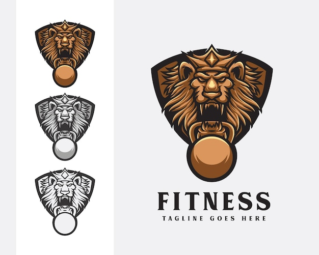 マッスルジムのロゴデザイン