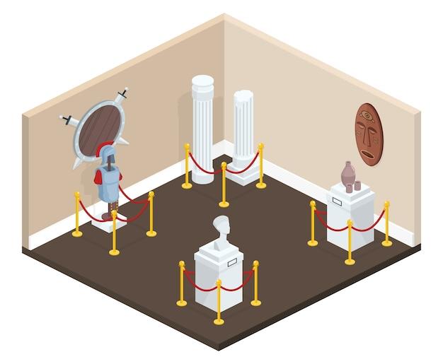 Иллюстрация к иллюстрациям выставки в музее