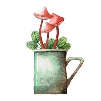 Иллюстрация грибов