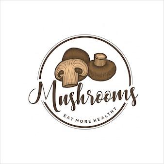 Mushroom logo design