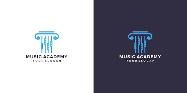 Music academy logo design