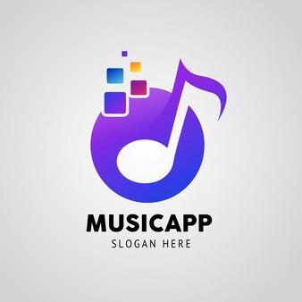 음악 앱 로고