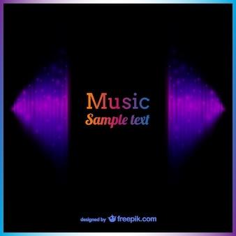 音楽背景テンプレート