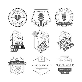 Music badges