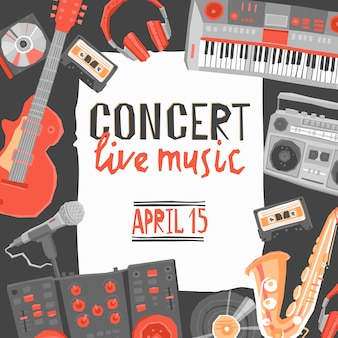 音楽コンサートポスター
