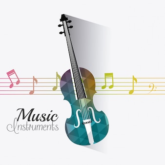 Music digital design.