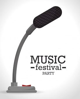 音楽祭のデザイン