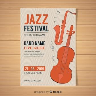 Music festival flyer