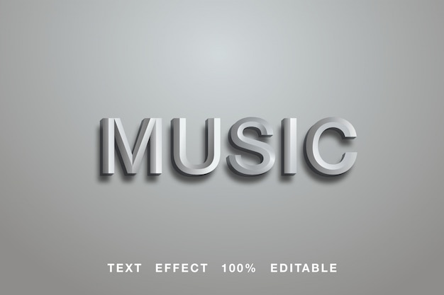 Music grey text