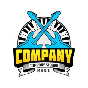 Music / guitar / piano logo place