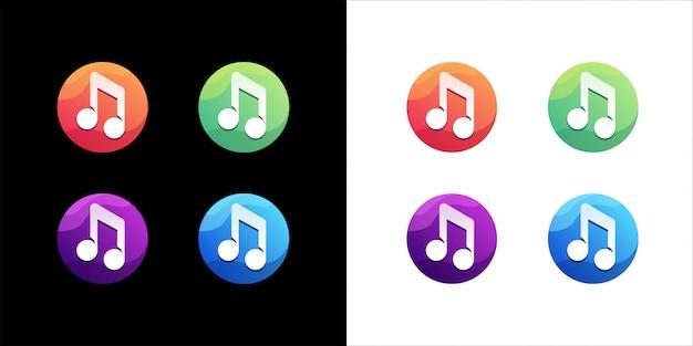 Music icon set