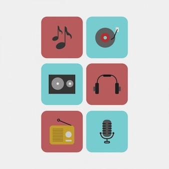 Icone music pack