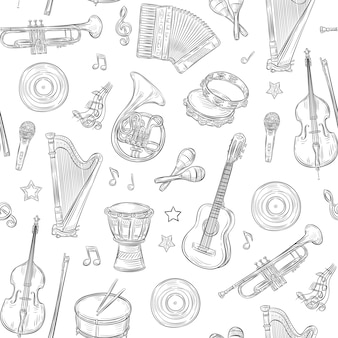 Music instruments set