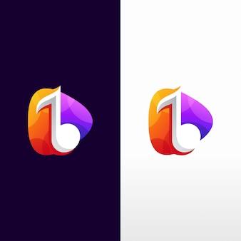 Музыкальный дизайн логотипа