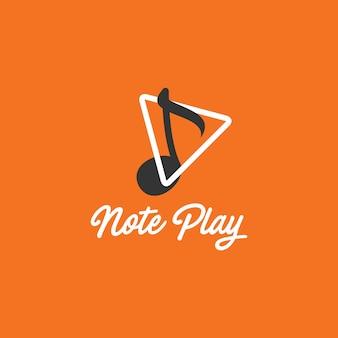 Music note logo