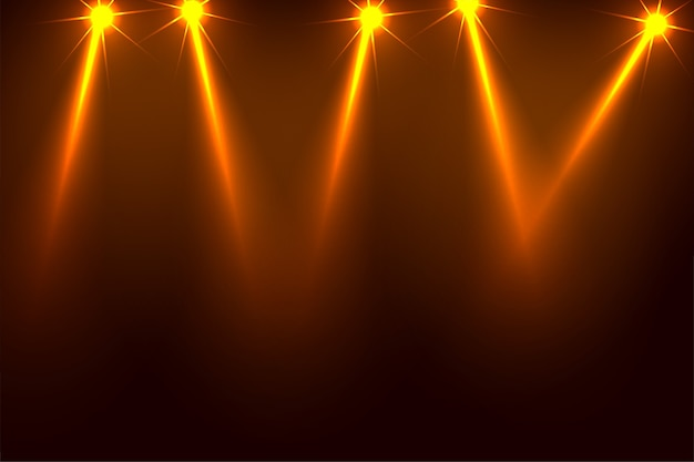Music party focus spotlight background design