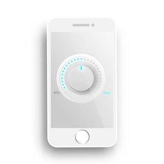 휴대 전화 벡터에 음악 플레이어 botton