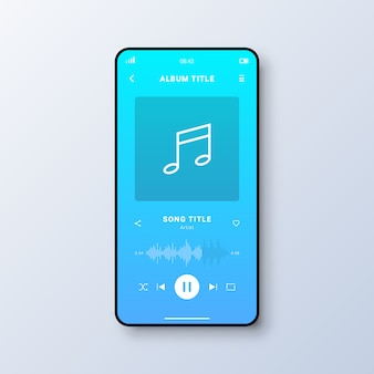 Music player user interface