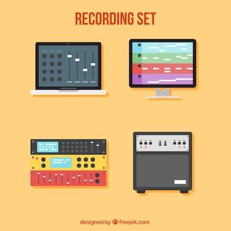 Music recording set