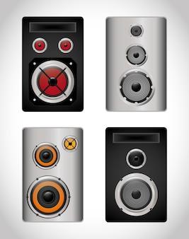 Music speaker equipment and technology