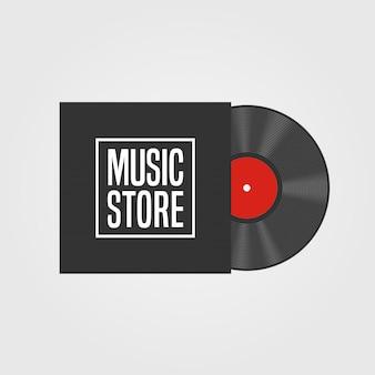 음악 상점 표시