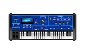 Music Synthesizer Realistic Style Electronic Piano
