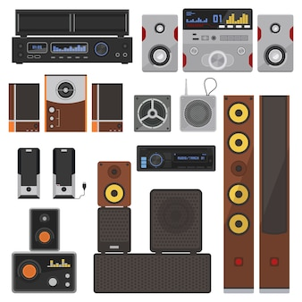 Music systems  set.