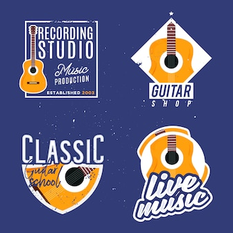 Music themed logotypes