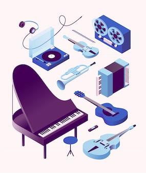 Иллюстрация музыкального инструмента