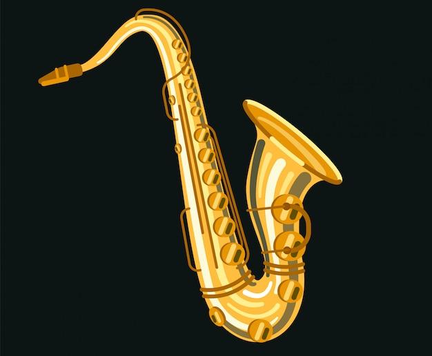 Musical instrument saxophone