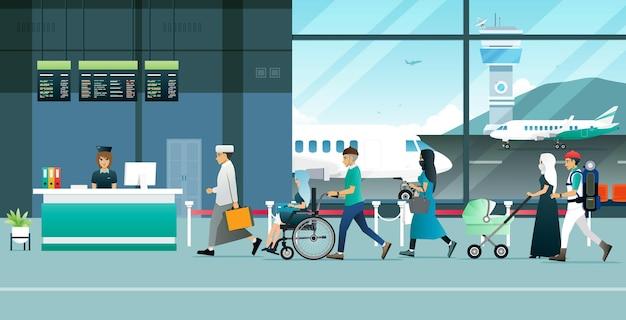 Услугами аэропорта пользуются граждане-мусульмане и туристы.