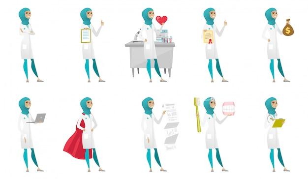 Muslim doctor set