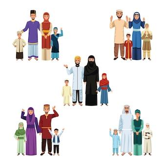 Muslim families groups