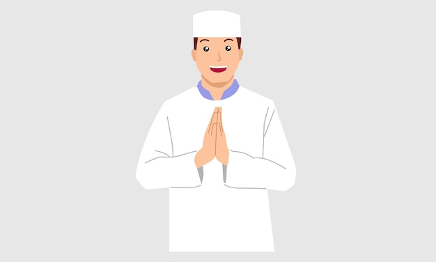 イスラム教徒の男性キャラクター